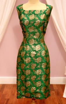 1950s Vintage Wiggle Dress- Mela Mela