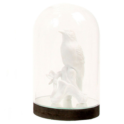 Bell Jar with Mirrored Base - I Love Retro