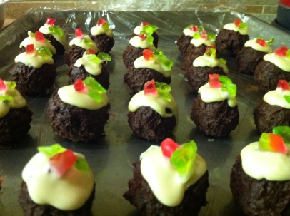 Christmas Puddini Bonbons