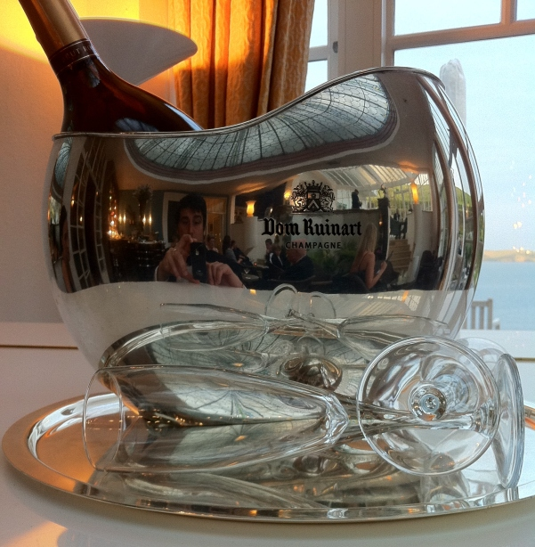 Champagne Bucket at Burgh Island Hotel