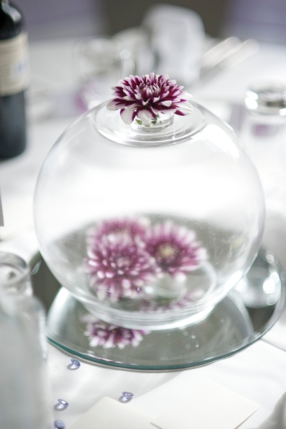 Our Wedding Table Centrepieces