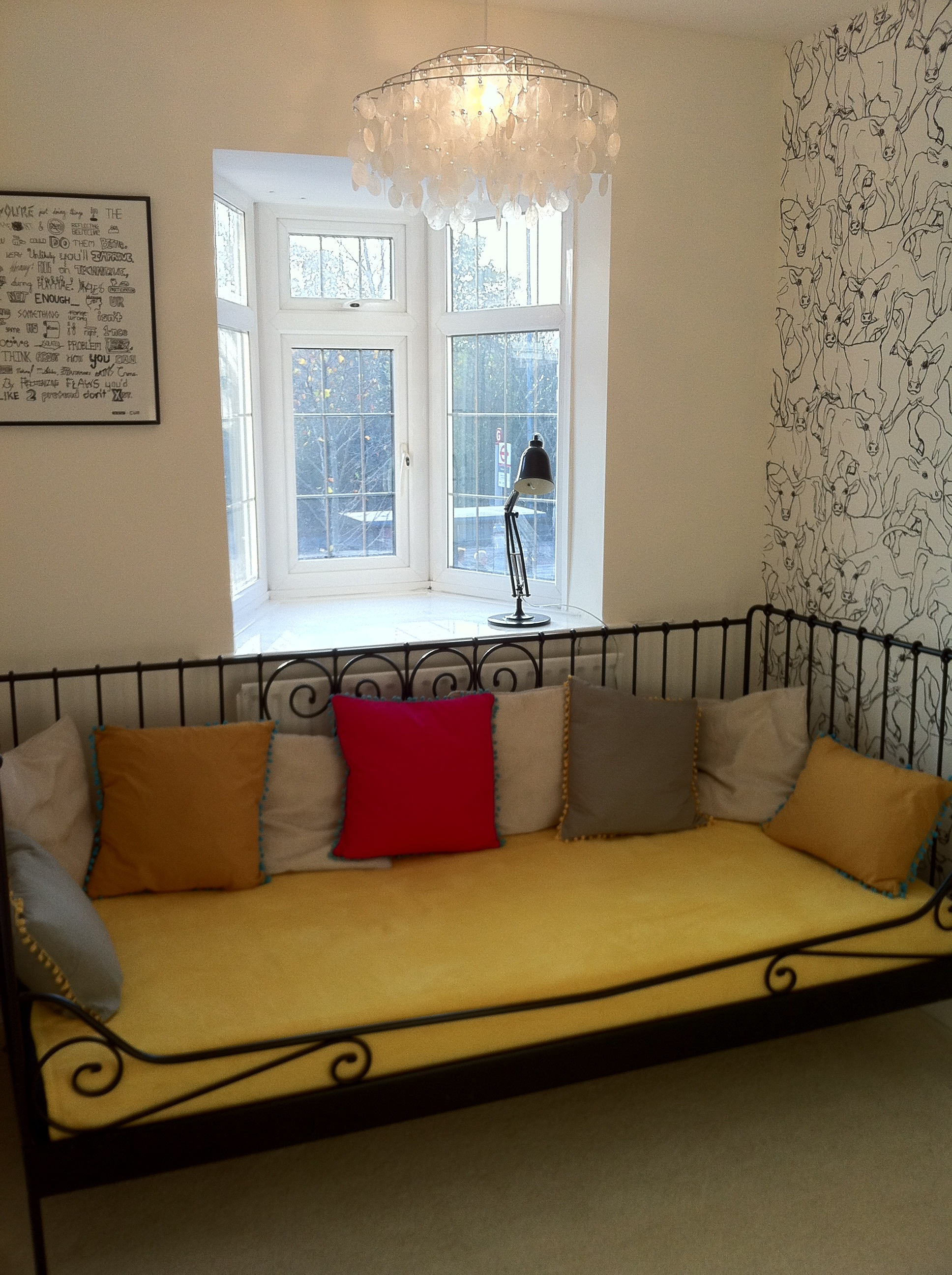 Animals stampede the hankerer for Small spare room ideas