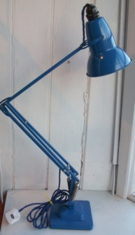 Blue Anglepoise Lamp - Pineapple Ice Bucket Retro