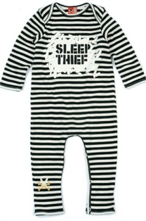 Sleep Thief Romper, Babes With Babies