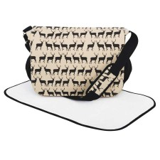 Stag print baby changing bag - Graham and Green