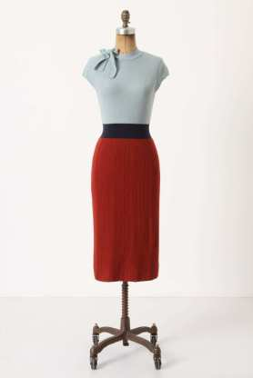 Tie Neck Knitted Dress - Anthropologie