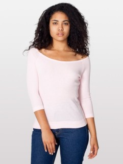 American Apparel Thermal Top