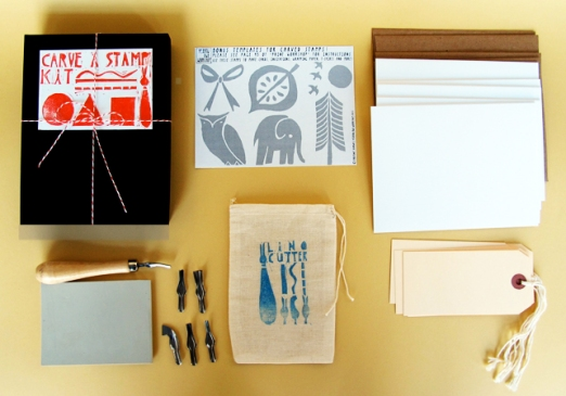 Carve a stamp kit - Yellow Owl Workshop