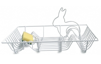 Dish Bunny Washing Up Rack - Invotis Orange