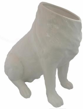 Dog Vase - Raw Space