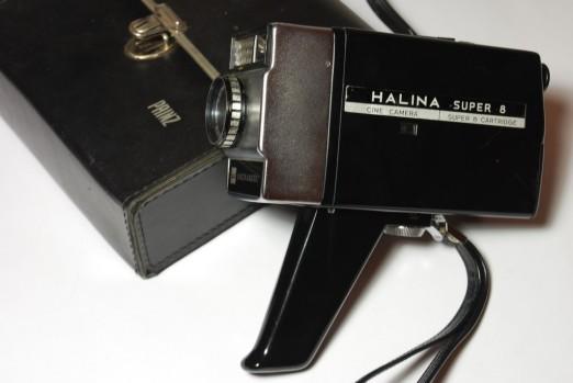 Halina Super-8 Camera - Three Jelly Moulds & a Wardrobe