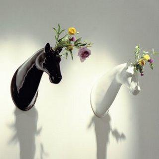 Horse Head Vase - Bosa