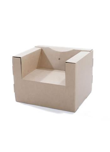 Cardboard Chair - Paperpod Cardboard Creations