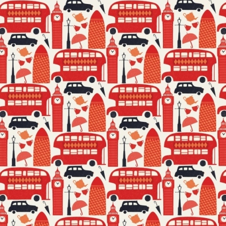 Debbie Powell London Gift Wrap - Lagom Design
