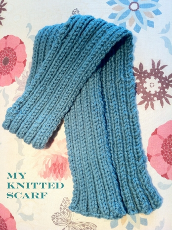 My Knitted Scarf - TheHankerer