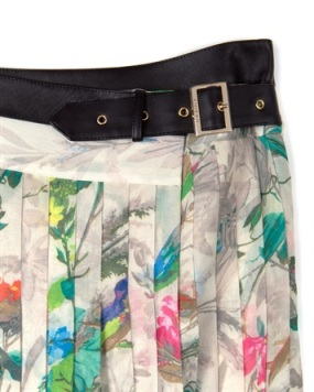 Printed Midi Skirt - Ted Baker
