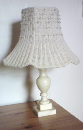 Starlight Lampshade - Betty Knitter