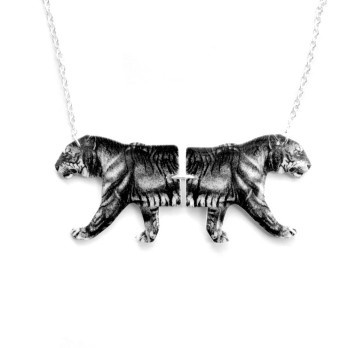 Tiger Tiger Necklace by Tilly Bloom