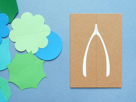 Wishbone Card - Present & Correct