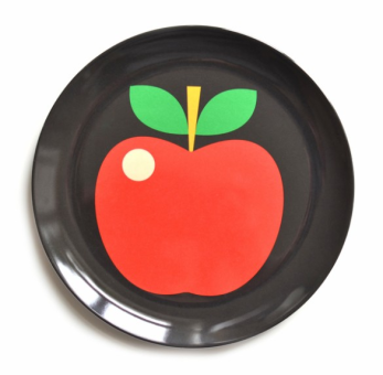 Apple Plate by Ingela P Arrhenius
