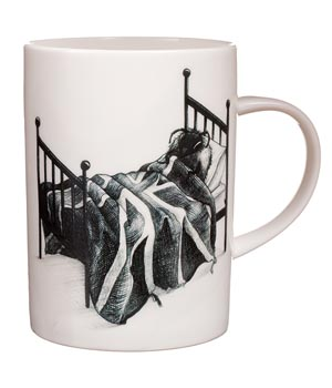 Bee in Bed Mug - Rory Dobner