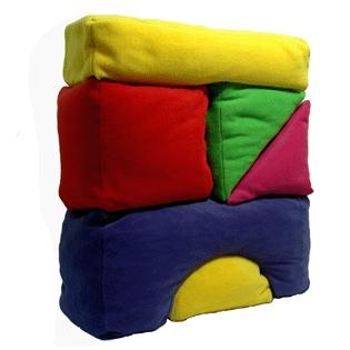 Building block scatter cushions - Zincwhite