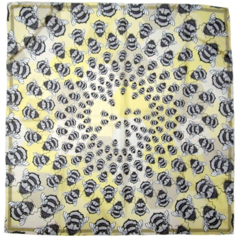 Craig Fellows - Silk Scarf Runny Honey