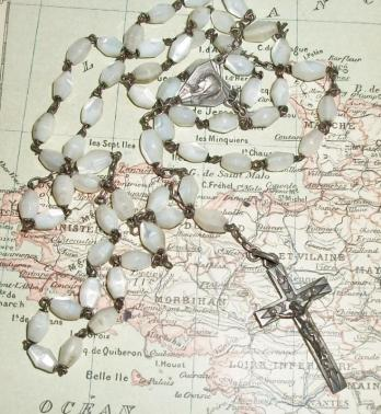 French 1930s Rosary
