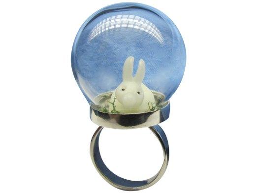 Garden Bunny Ring - Romantic Eccentric