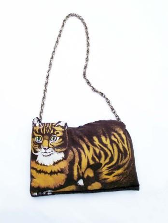 Ginger Cat Tea Cosy Handbag - uoldbag!
