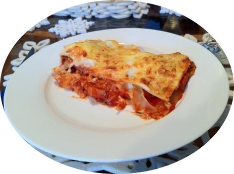 Aubergine & Mozzarella Lasagne