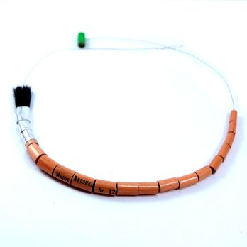 Paintbrush necklace - Zincwhite - Designers Makers