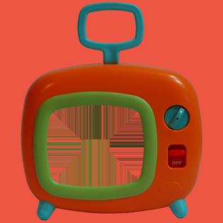 Personalised Moving Television-Zincwhite