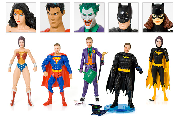 Personalised Superhero Action Figures - Firebox
