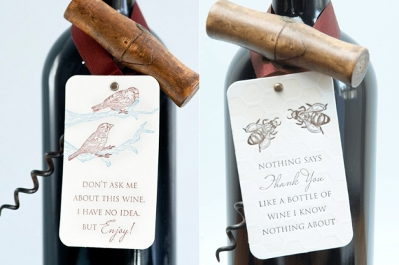 Wine Tags - Papermash