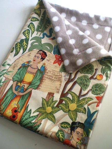Frida Kahlo Baby Blanket - Carousel Belle