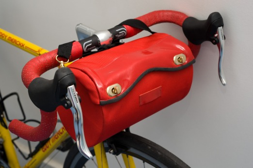 Handlebar Bag Red - Cyclodelic