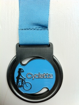 My Cycletta Medal