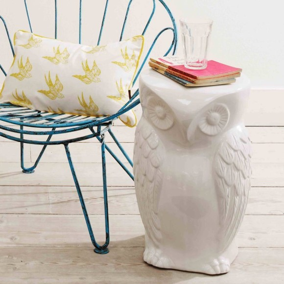 Mr Wild Owl Stool - Graham & Green