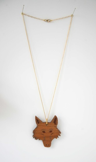 Mr Wolf Necklace - Rebecca Boatfield