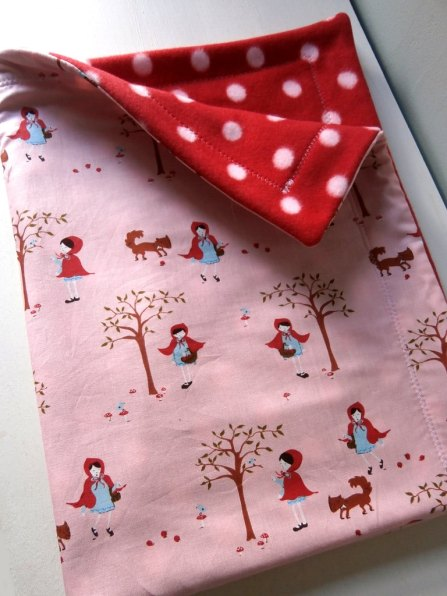 Red Riding Hood Baby Blanket - Carousel Belle