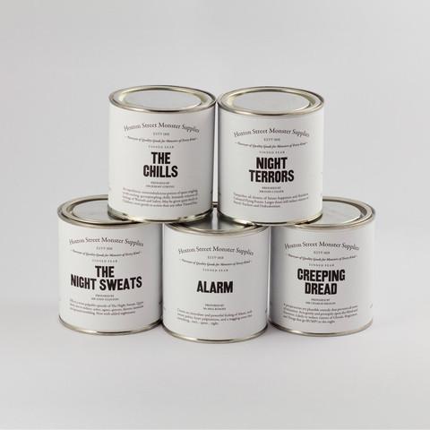 Hoxton Street Monster Supplies - Range of Childrens' Tinned Fear