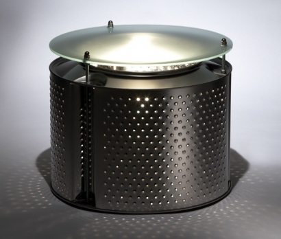 Reestore - Silvana Wash Machine Drum Table