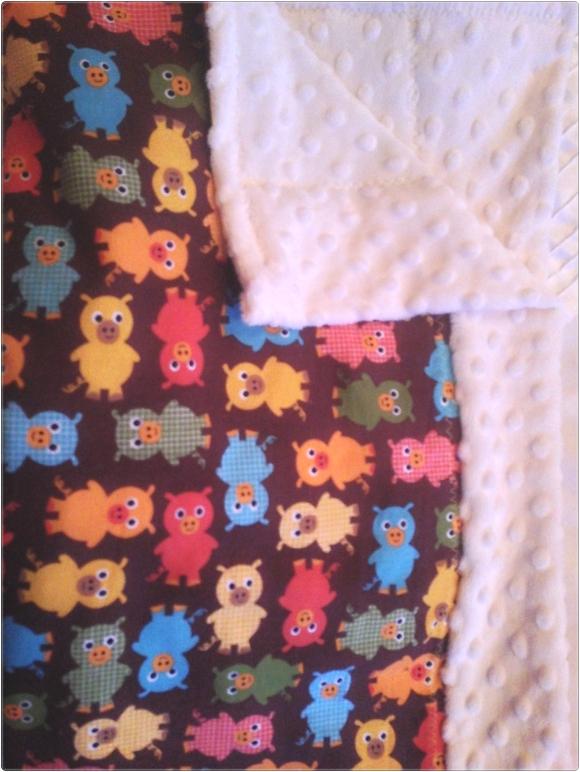 baby blanket pigs