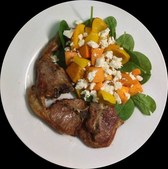 Lamb & sweet potato dish