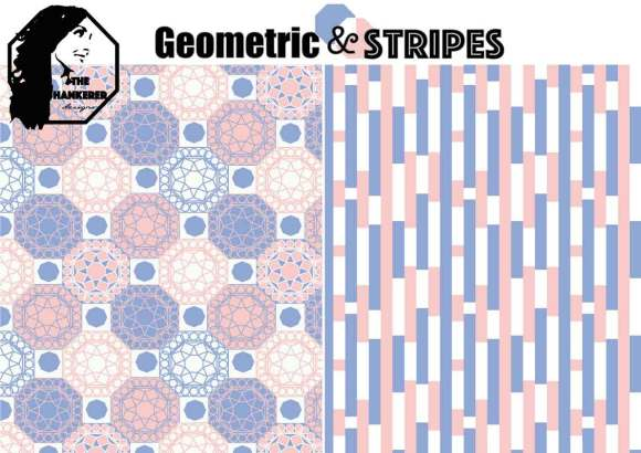 Geometric-&-Stripes
